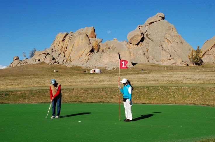Golf Holiday in Mongolia
